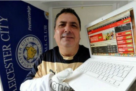 Leicester City fan set to net £100k if team won league settles for £29k as he 'couldn't bear' stress